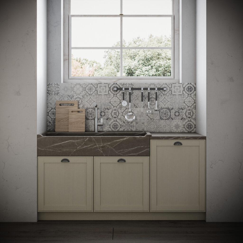 Zona lavello cucina